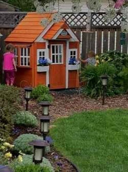 15 Super Awesome Kids Outdoor Playhouses Kidsomania Playhouse