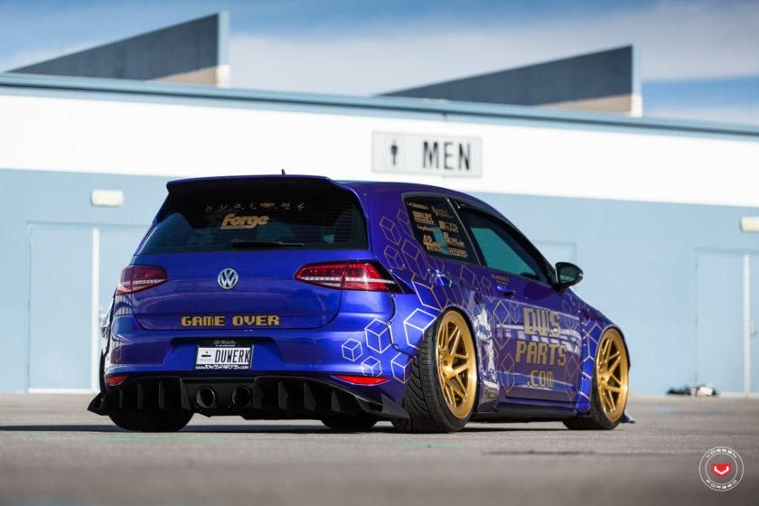 rocket bunny golf mk7 vw gti vossen lc 109t tuning 14 photo df golf wheels pinterest. Black Bedroom Furniture Sets. Home Design Ideas