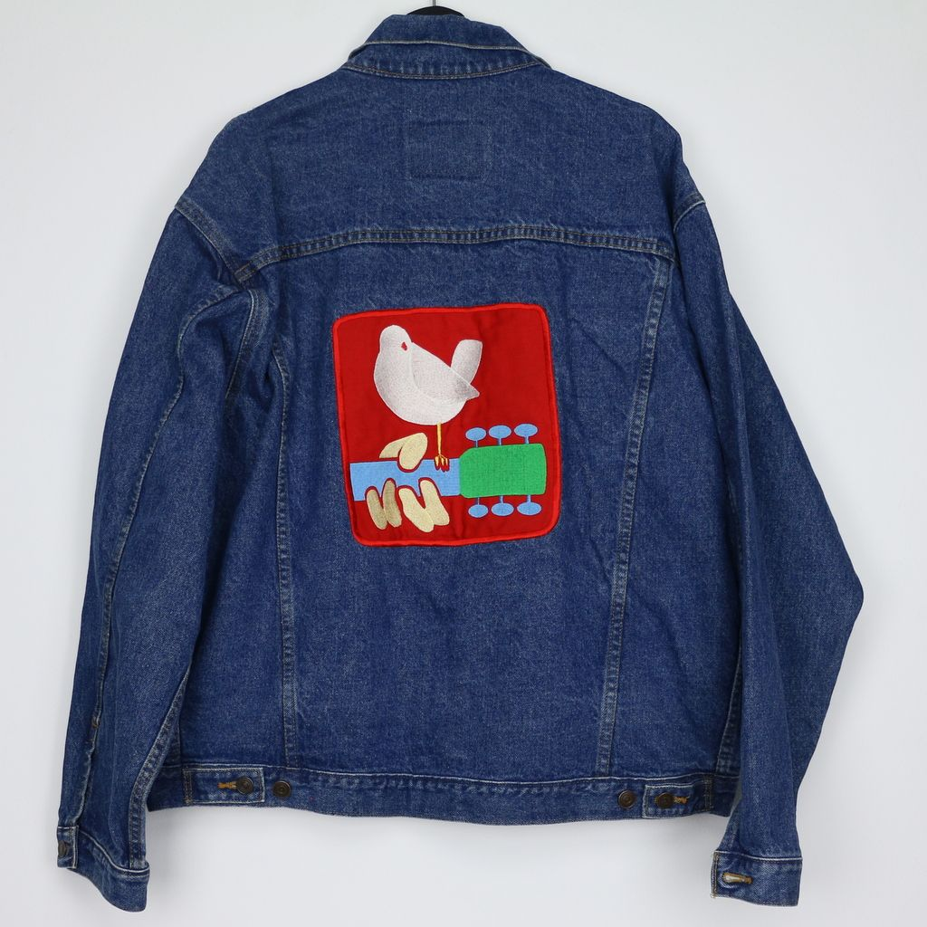 ab6dccdc86e 1994 Woodstock Jean Jacket | The World's Finest Selection of ...