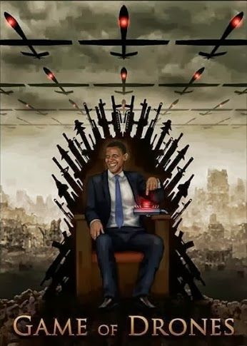 Game of the drones starring Barrak Obama.