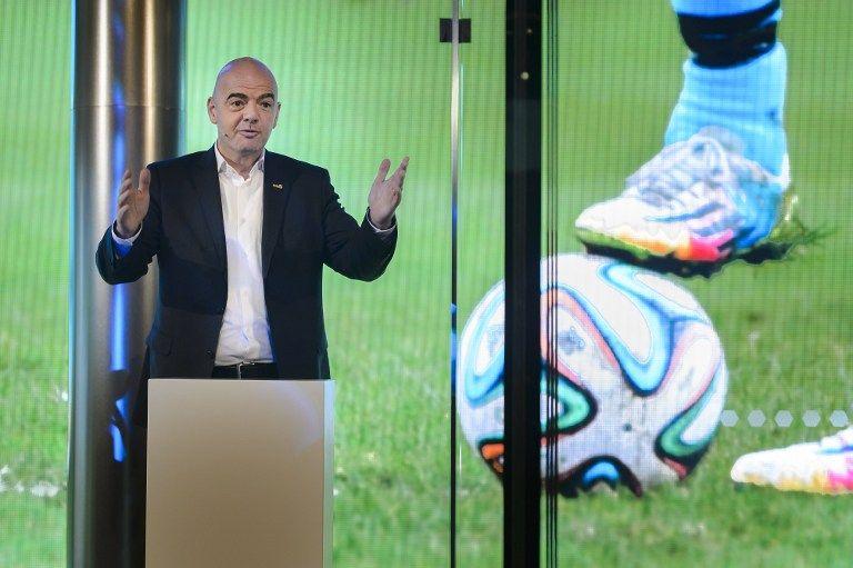 Infantino sigue apostando por un Mundial con 40 equipos