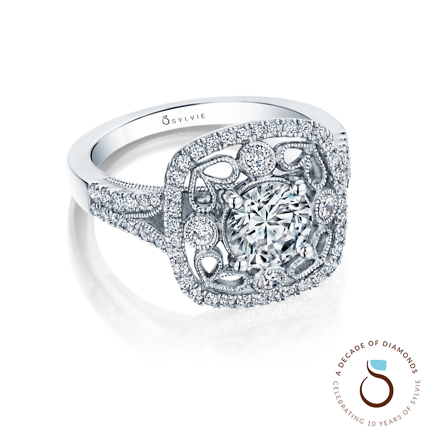pin year etoile from wedding co anniversary rings lu diamond tiffany platinum ring my gift