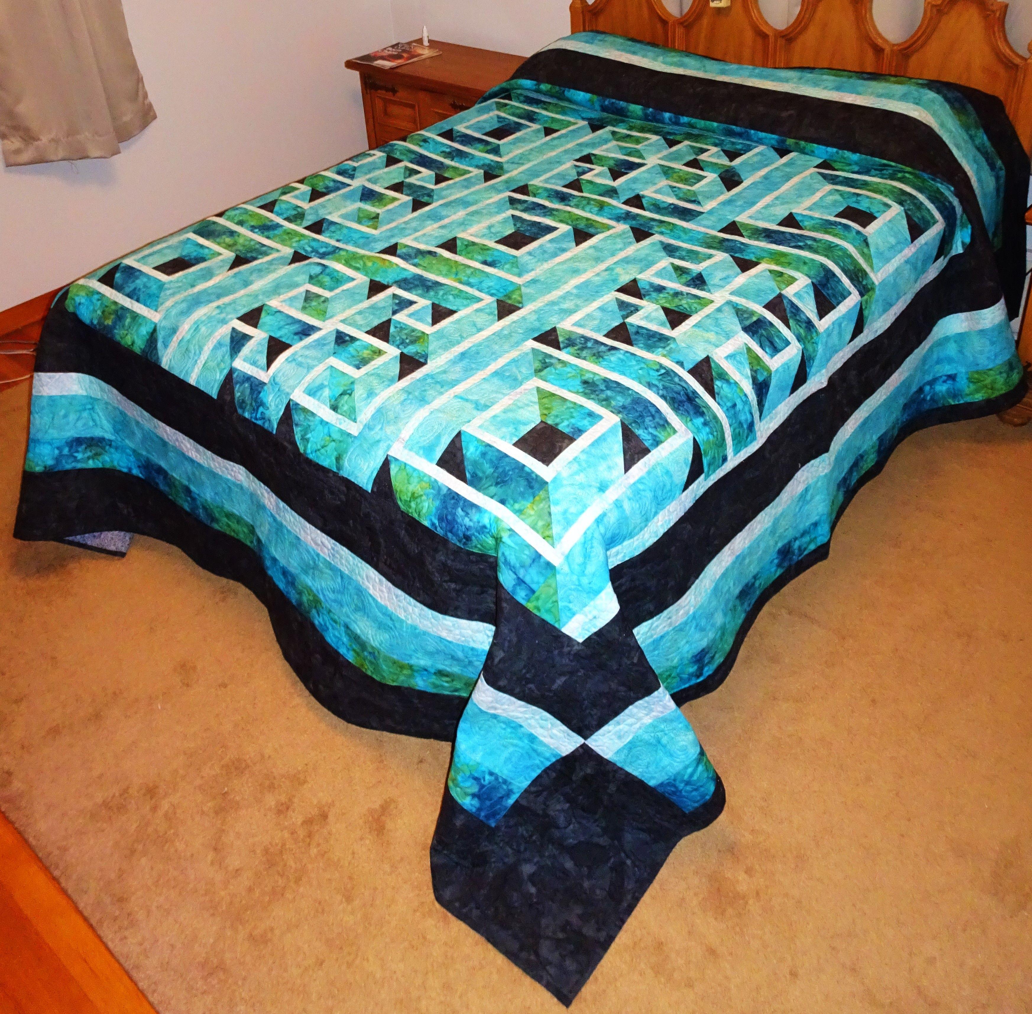 Image result for labyrinth walk quilt pattern free | Quilt Maze ... : labyrinth quilt pattern free - Adamdwight.com