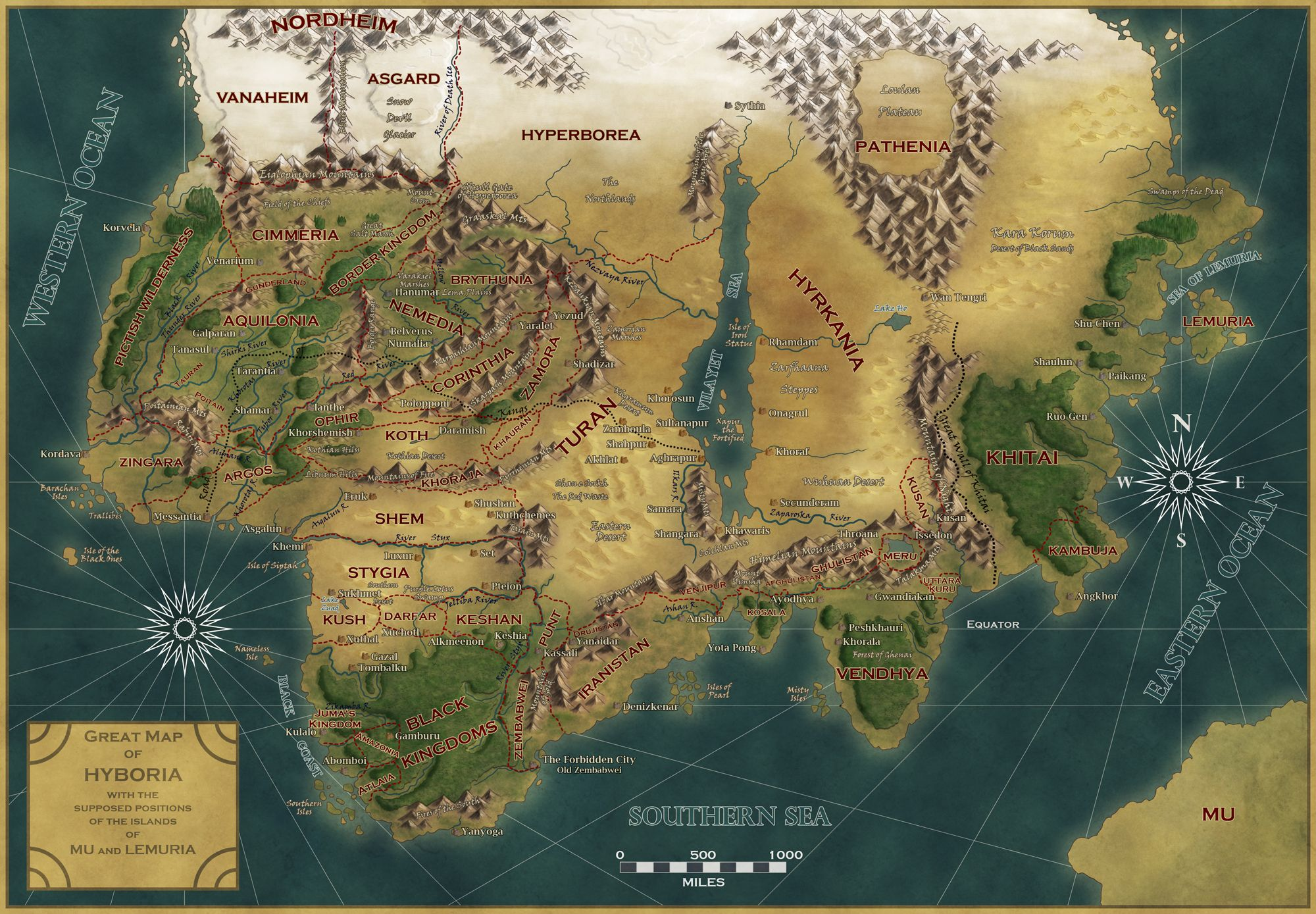 Designing Fantasy World Map Maps In 2019