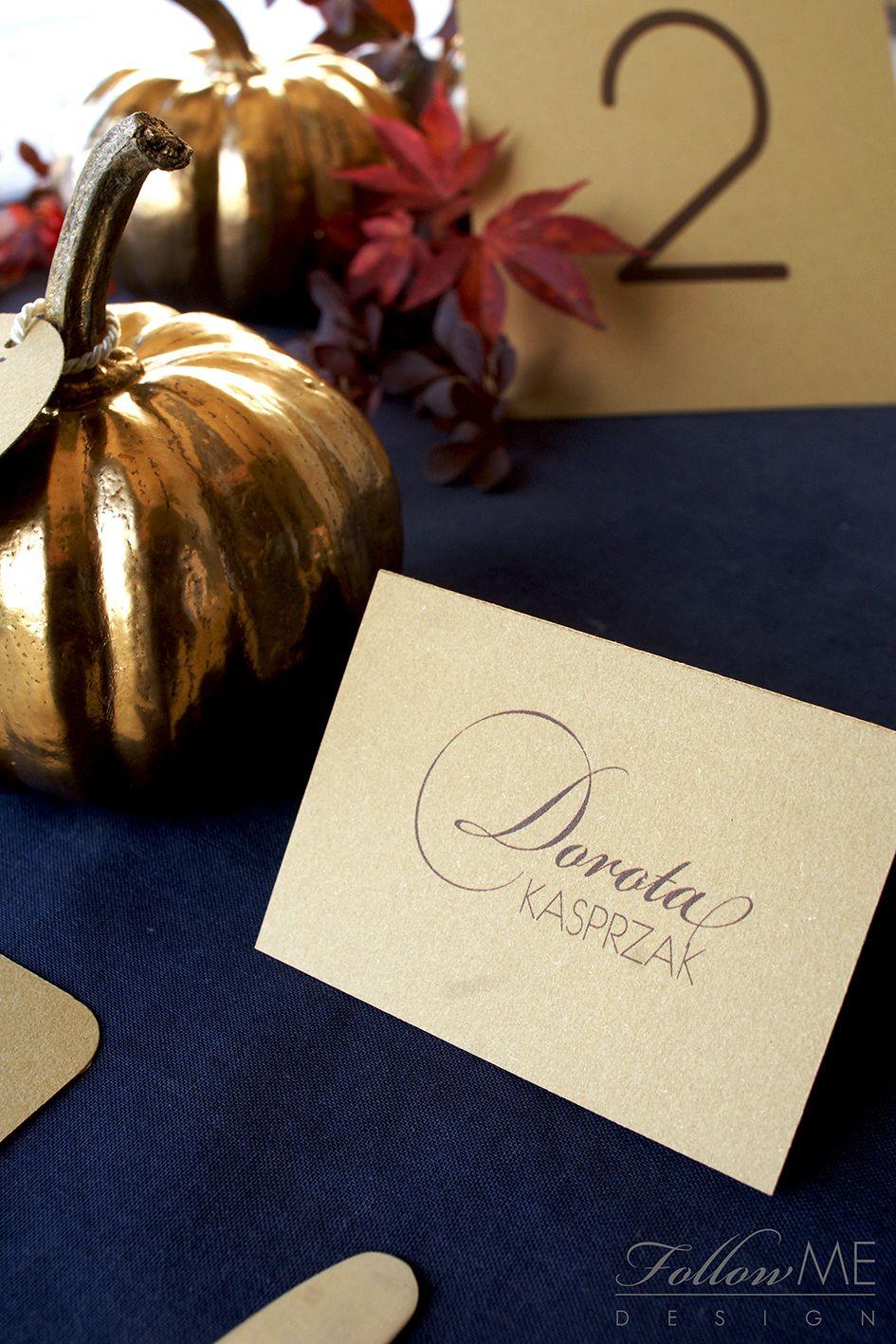 Pin On Jesienne Dekoracje Slubne Autumn Wedding Decorations Details