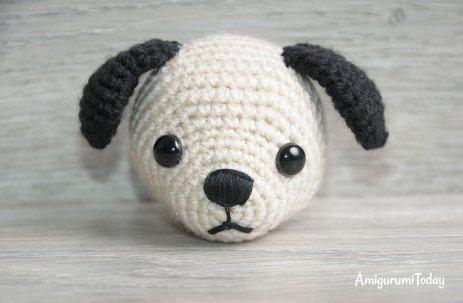 Free Crochet Yorkie Dog Pattern With Video | Schattige haakwerkjes ... | 303x463