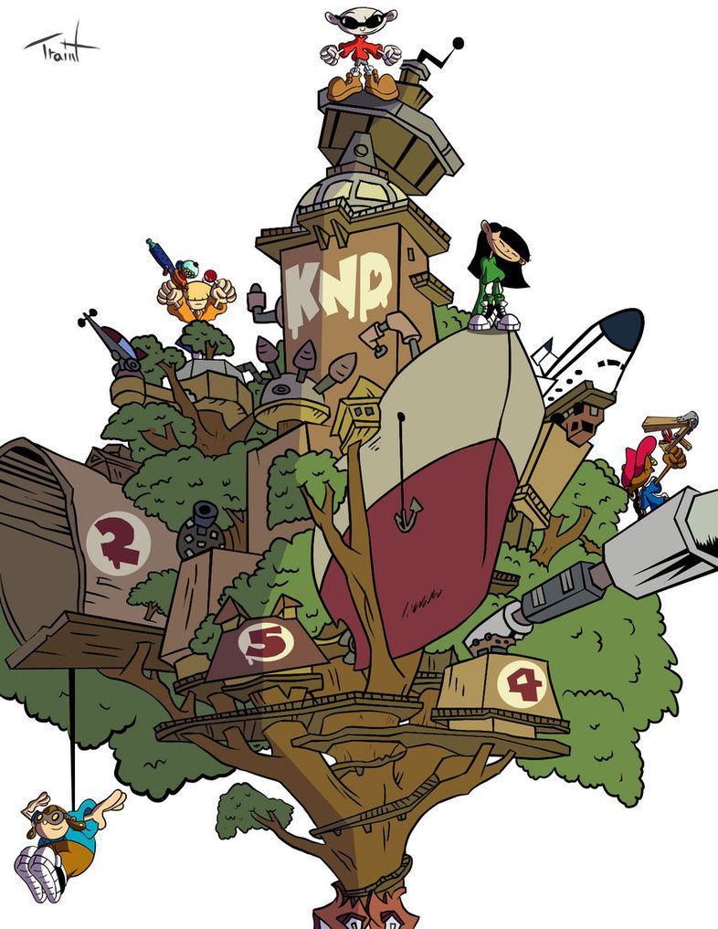 Cartoon Characters Houses : Codename kids next door cartoon network pinterest