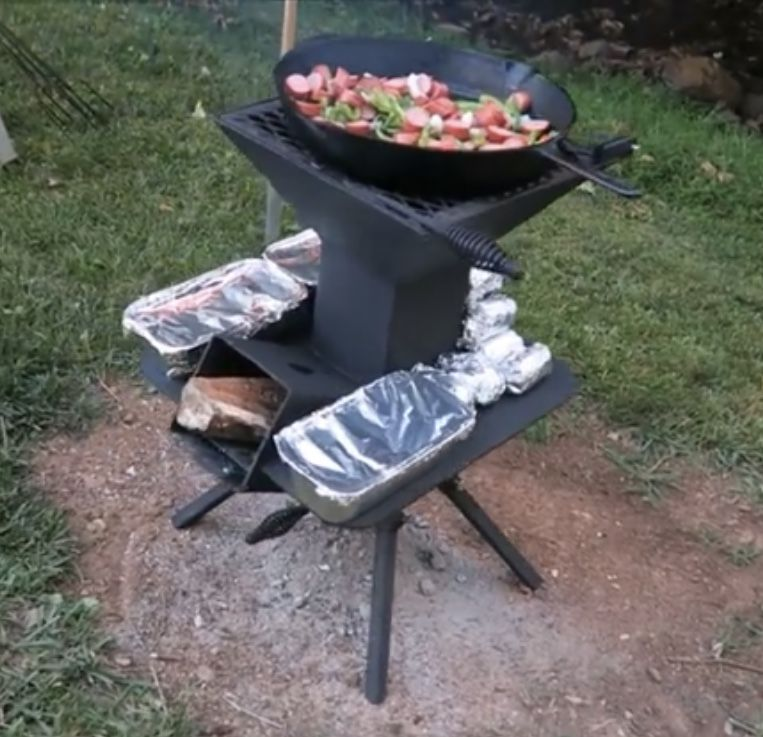 Pin By My Info On Welding Projects Diy Rocket Stove Rocket
