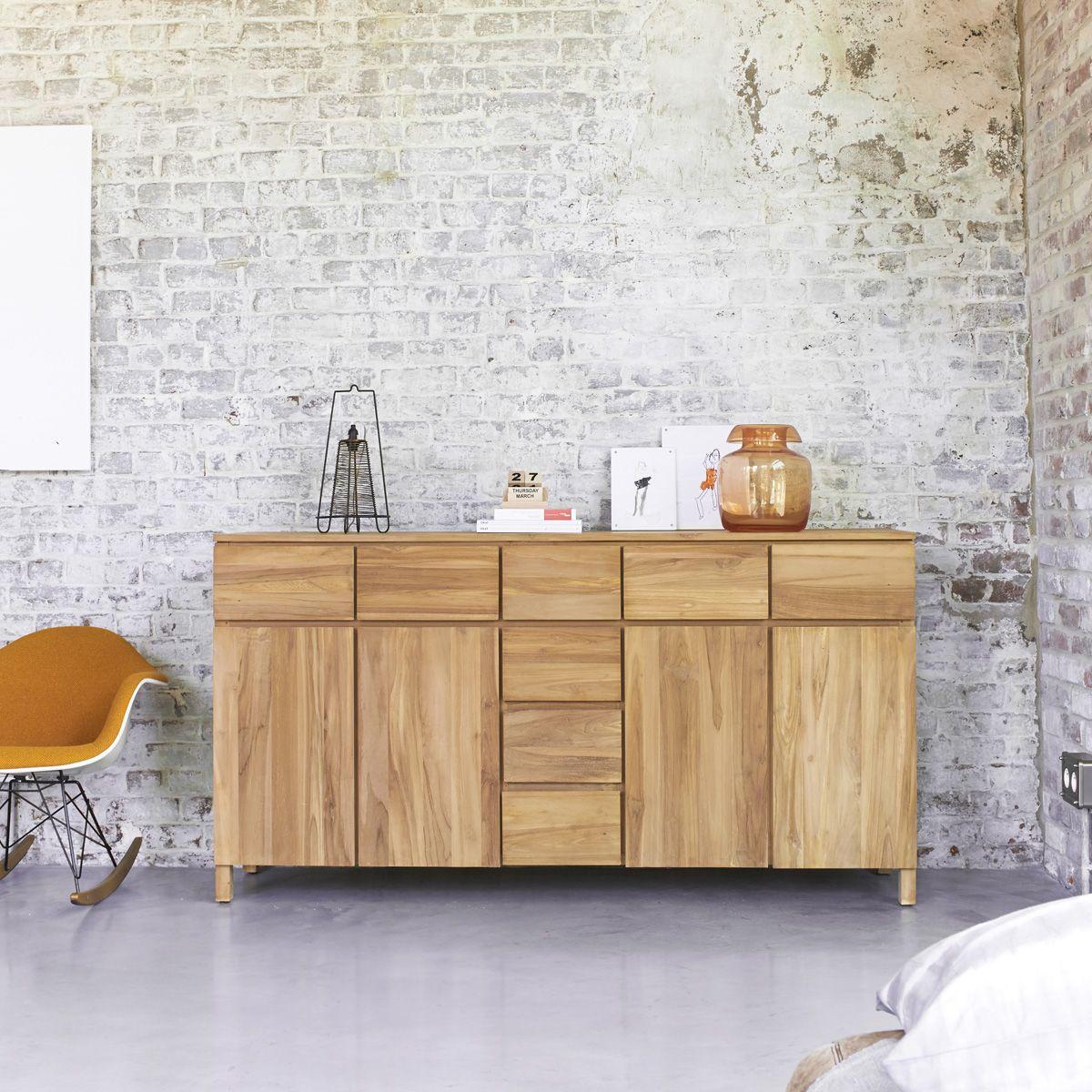 Verführerisch Sideboard 180 Dekoration Von Milano Teak