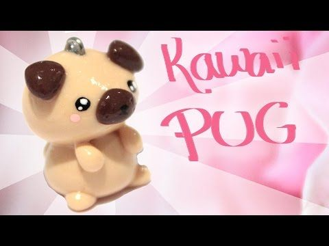 Kawaii Pug Polymer Clay Tutorial