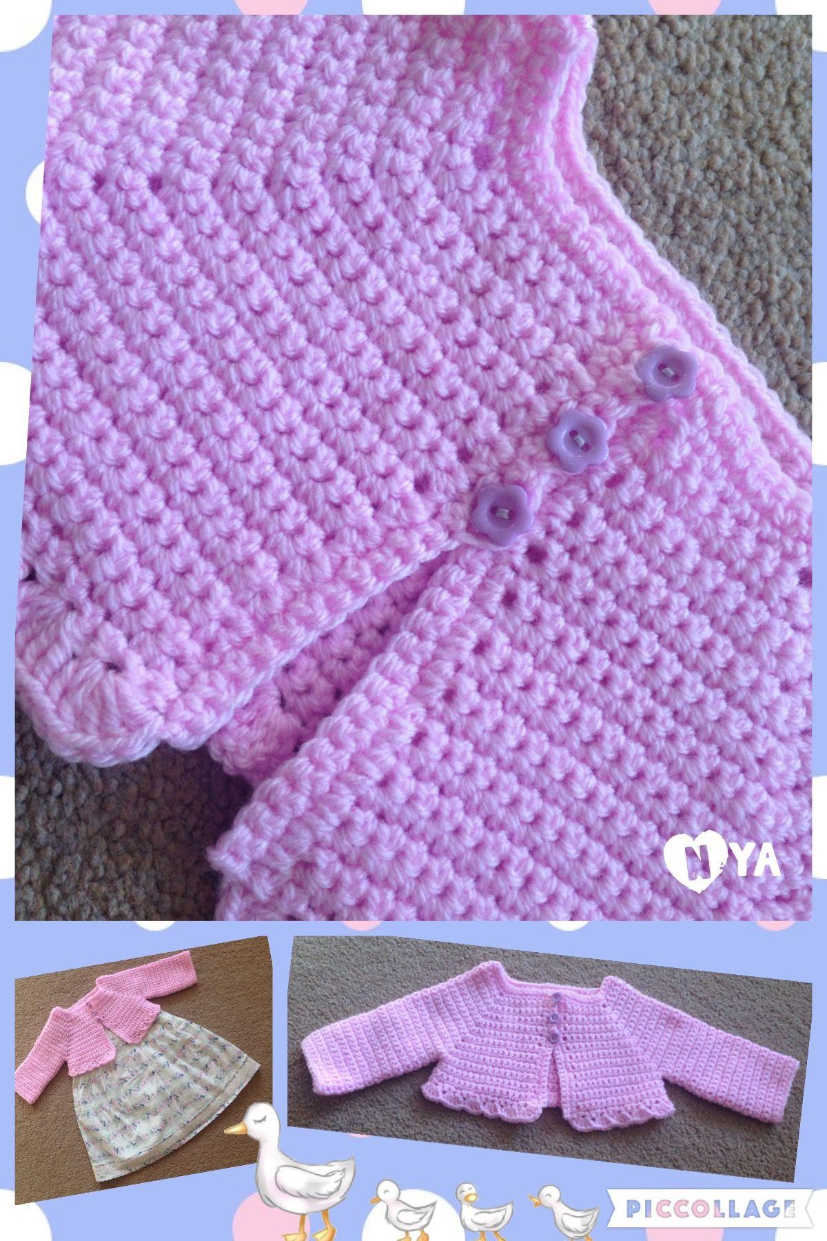 Nya Pretty bolero free crochet pattern. Xx   Finished crochet ...