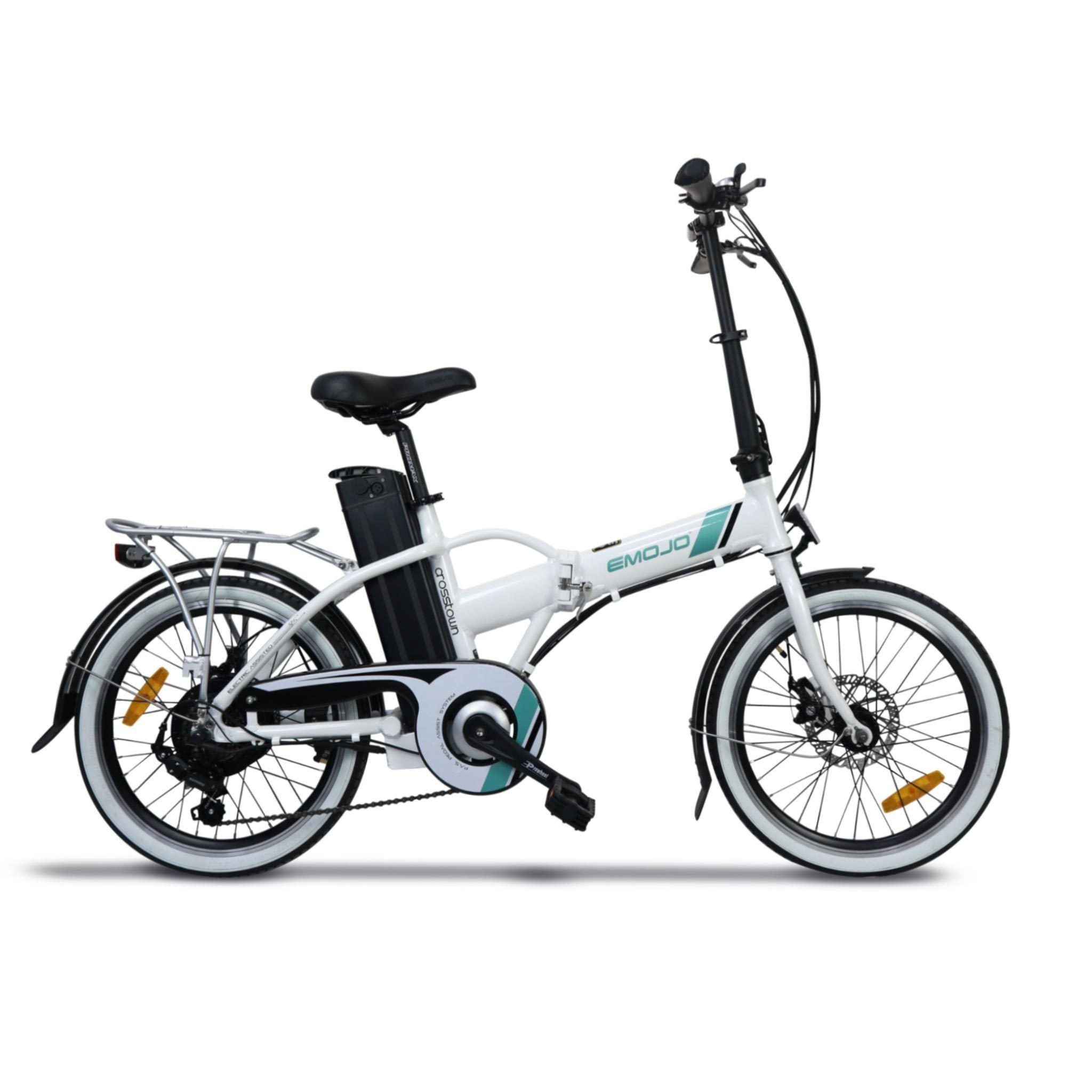 Emojo Crosstown 36v 350w 7 Speed Folding Electric Ebike