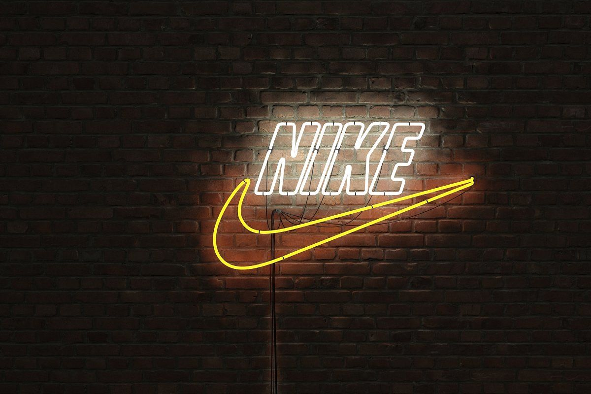 logo sign nike 3d , AFFILIATE, sizesproportions