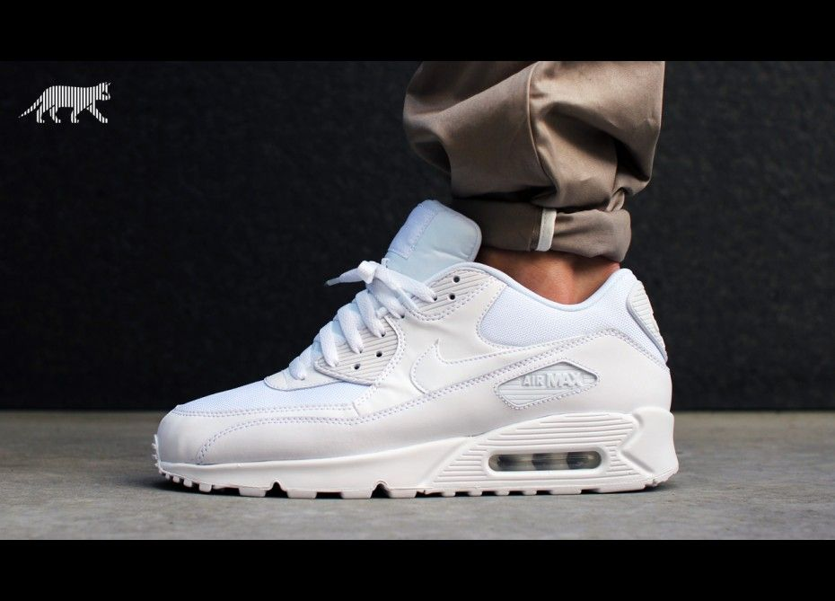 Nike Air Max 90 Essential (white / white - white - white)