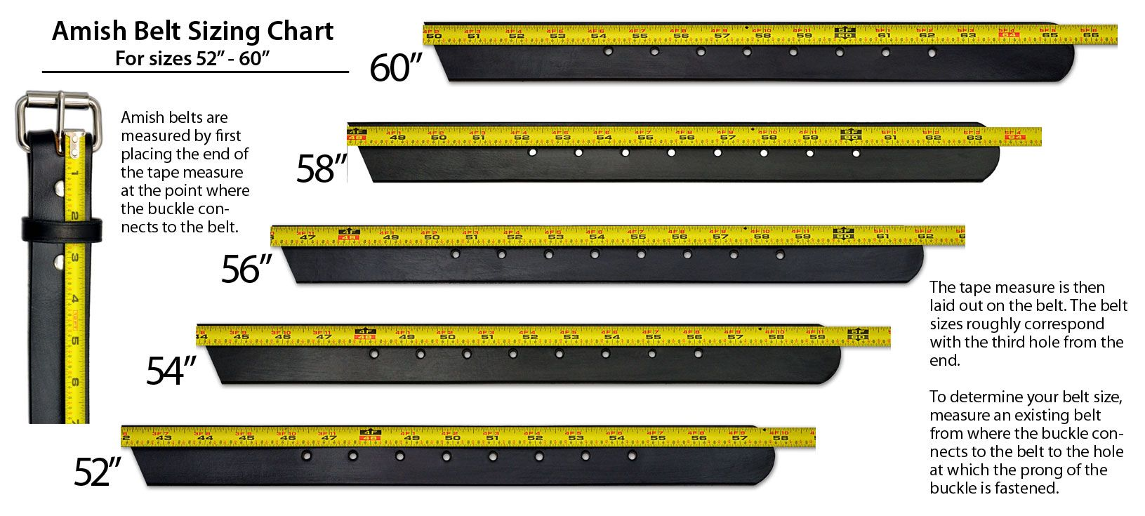 Amish belt sizing charts leather belts belt belt size
