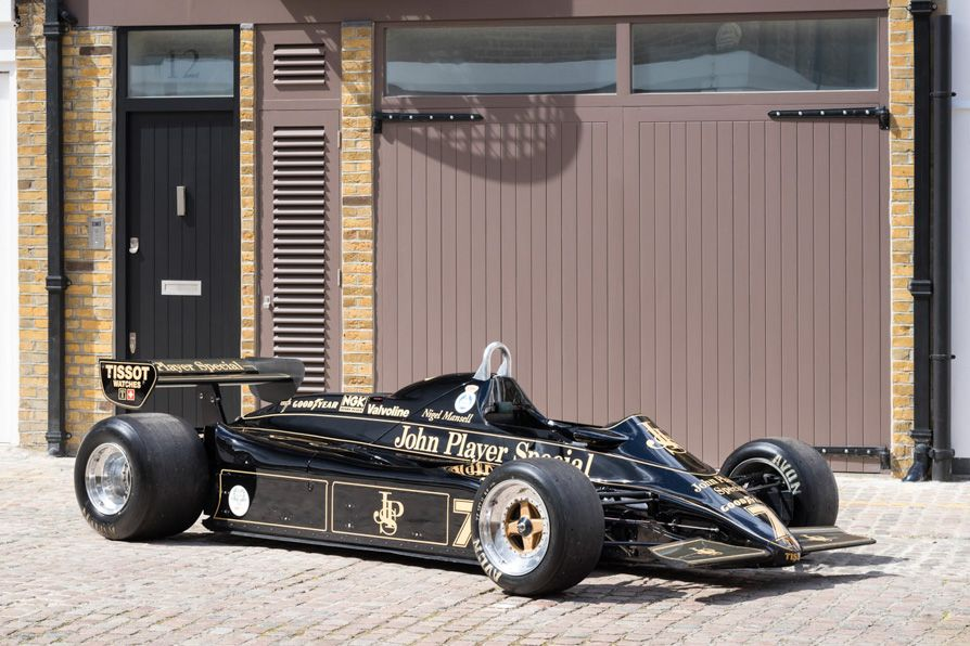 This magnificent Lotus 91 is ex-Nigel Mansell and has a Formula 1 podium to its name. It's up for sale at Fiskens.