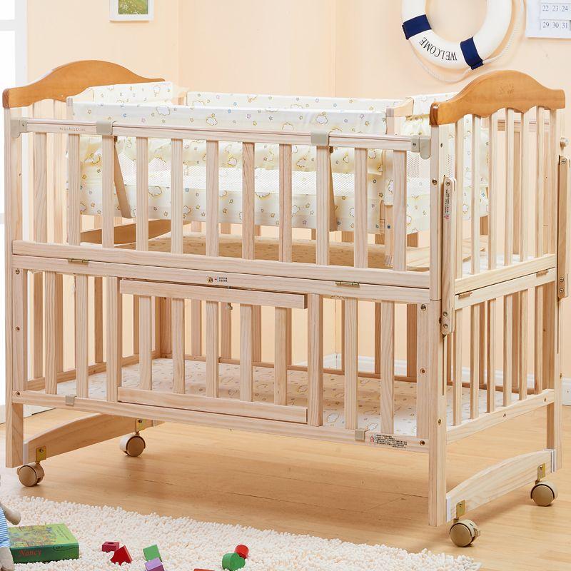 Bébé bois de lit peinture concentretor bb lit bébé berceau bureau