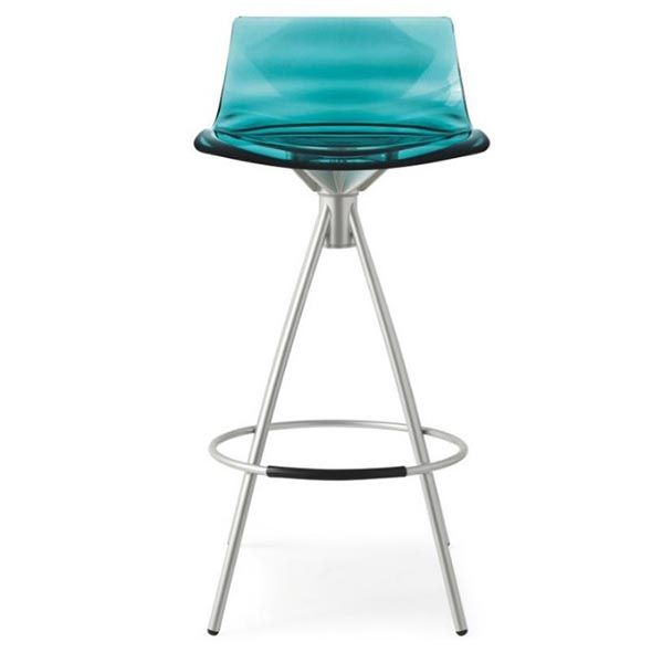 Turquoise Leau Bar Stool