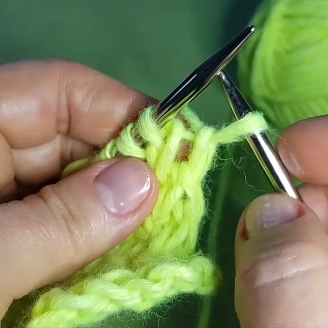 Photo of knitting tutorial for beginners