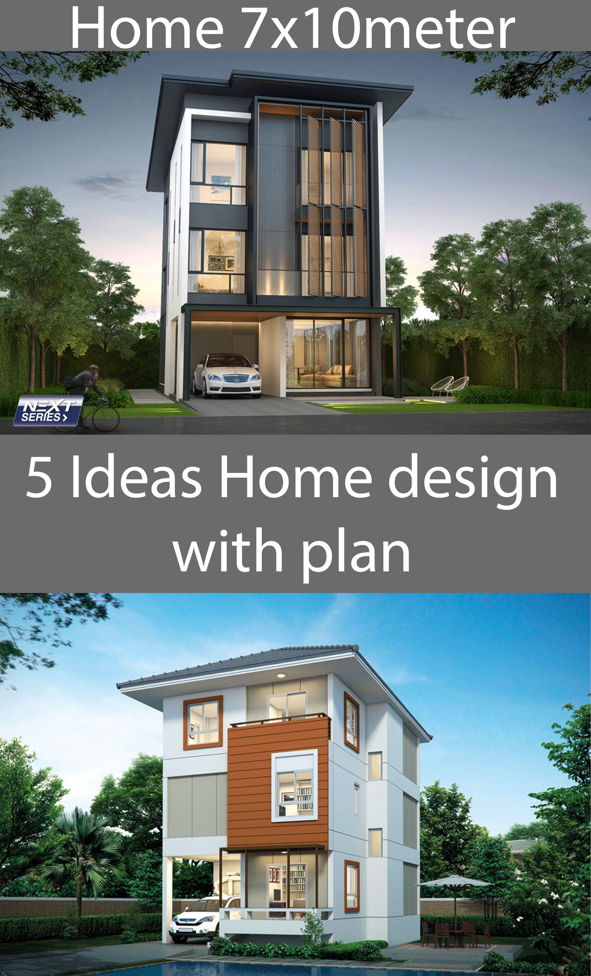 5 Ideas Home Design Plan 7x10m House Plan Map Home Design Plan Home Design Plans House Design