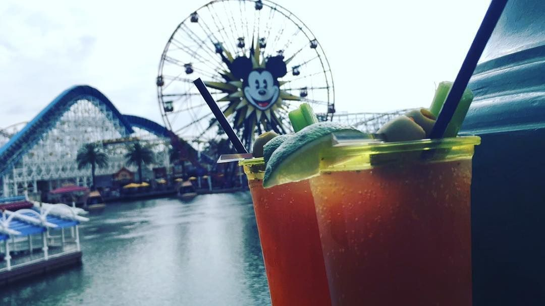 Micheladas & Disneyland  #Micheladas #bomb #olives #beer #dosxx #disneyland #disneylandcalifornia #toofull by fffrancooooo