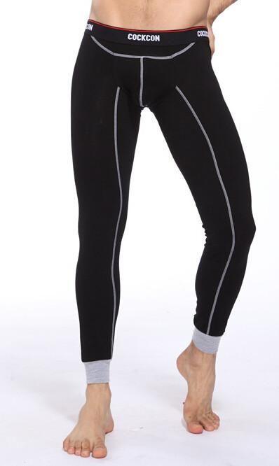47cc7f305216 Sexy Soft Men's Long Johns Thermal Pants Underwear Bottom Cotton Trousers M  L XL XXL Free Shipping