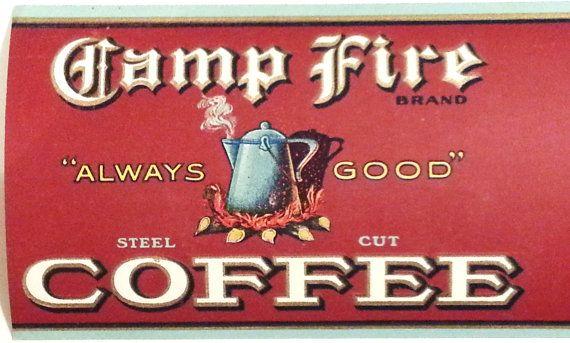 vintage löwe kaffee label