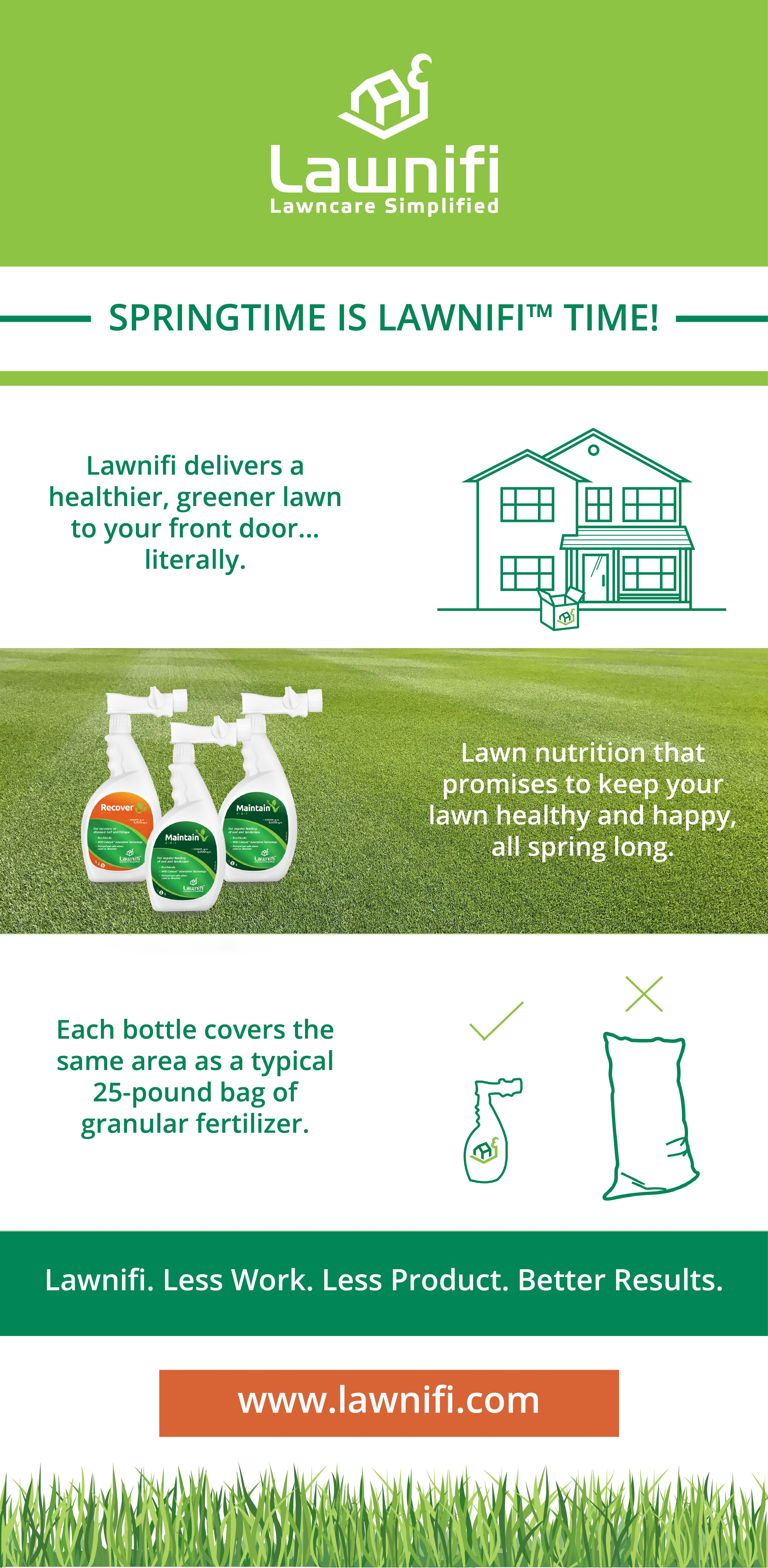 Springtime Is Lawnifi Time Simplify Your Lawn Maintenance With