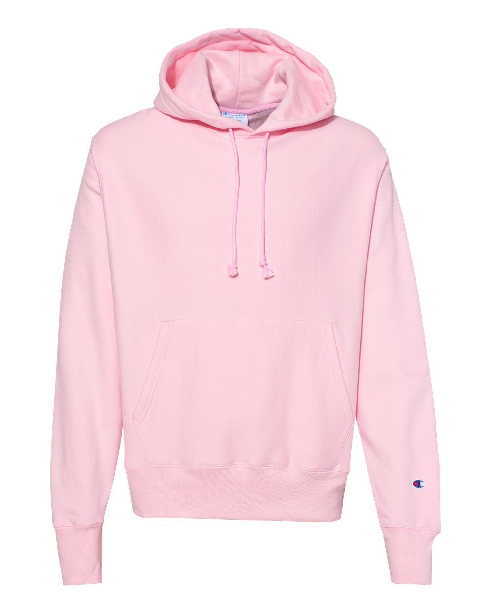 Front View Champion Reverse Weave Pullover Hoodie With Chest C Logo In Pink Candy Champion Clothing Pink Hoodie Outfit Zumiez Outfits [ 1209 x 800 Pixel ]