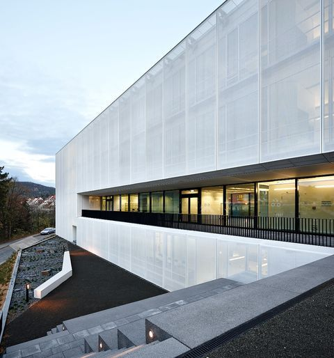 Fritz Lipmann Institute Jena 파사드 집 건축