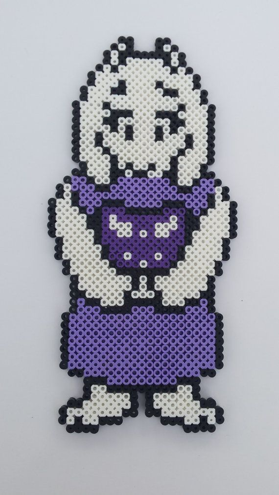 Undertale Toriel Bead Sprite Pixel Art By Molesbeads On Etsy