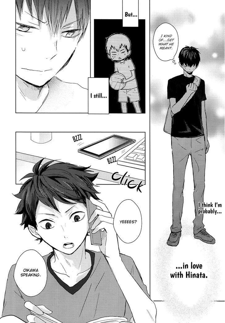 Vol.2 page 13 Kagehina, Kagehina doujinshi, Haikyuu