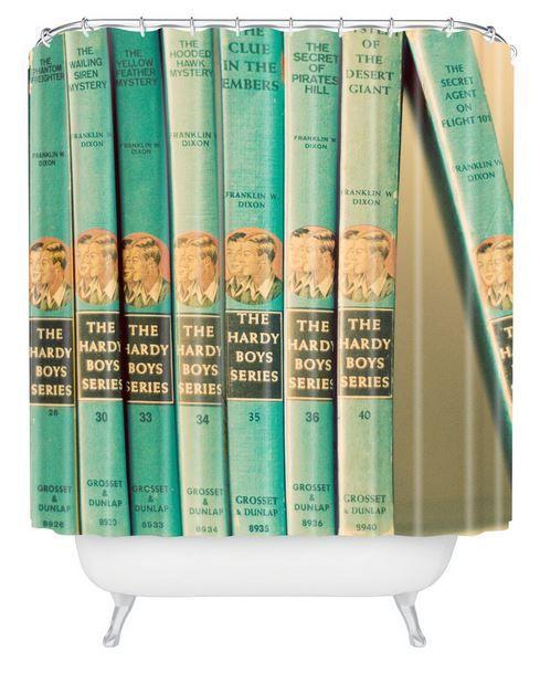 9 retro shower curtains - including four flamingos - from DENY ...