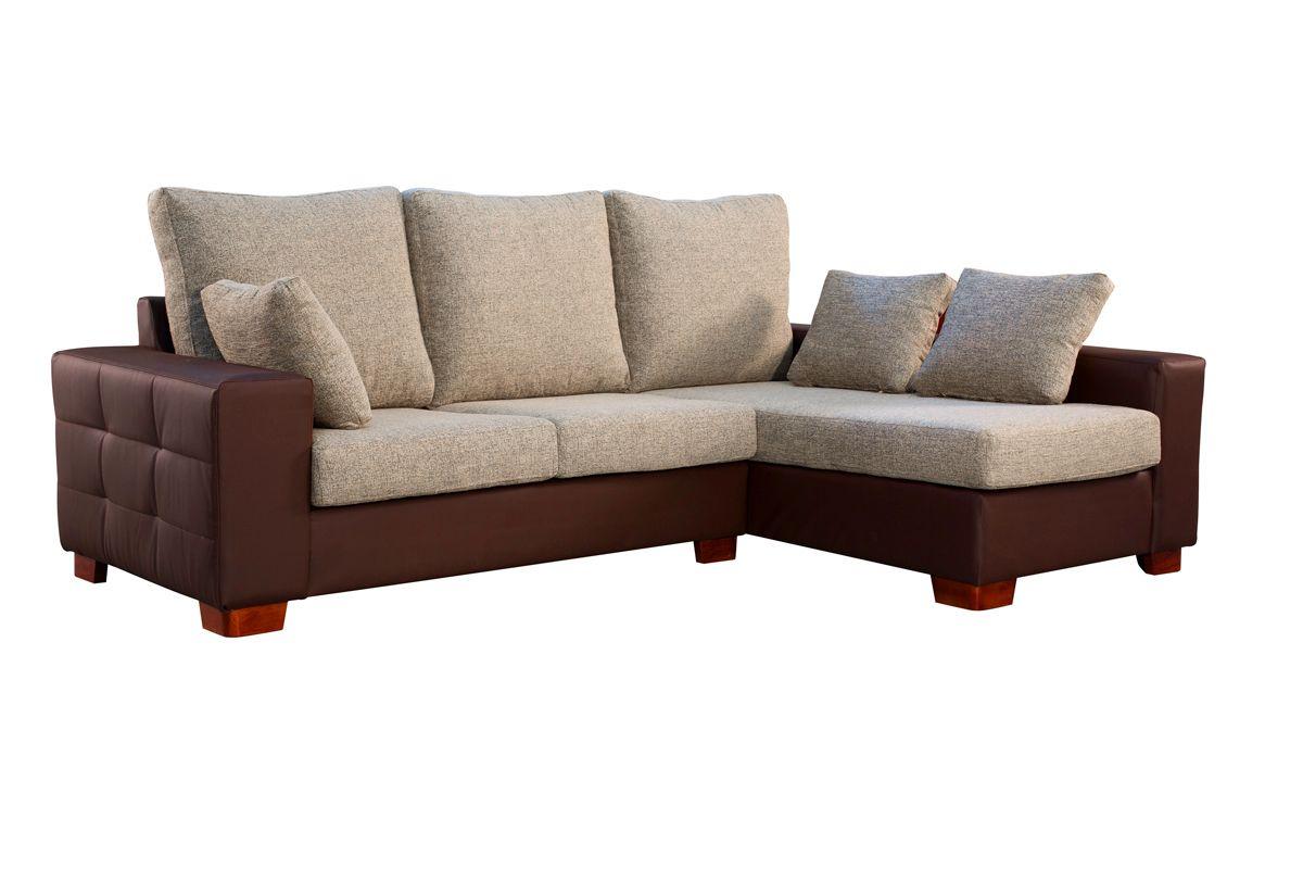 Sofa piel barato top sof de piel barato con estructura de for Muebles marfil malaga