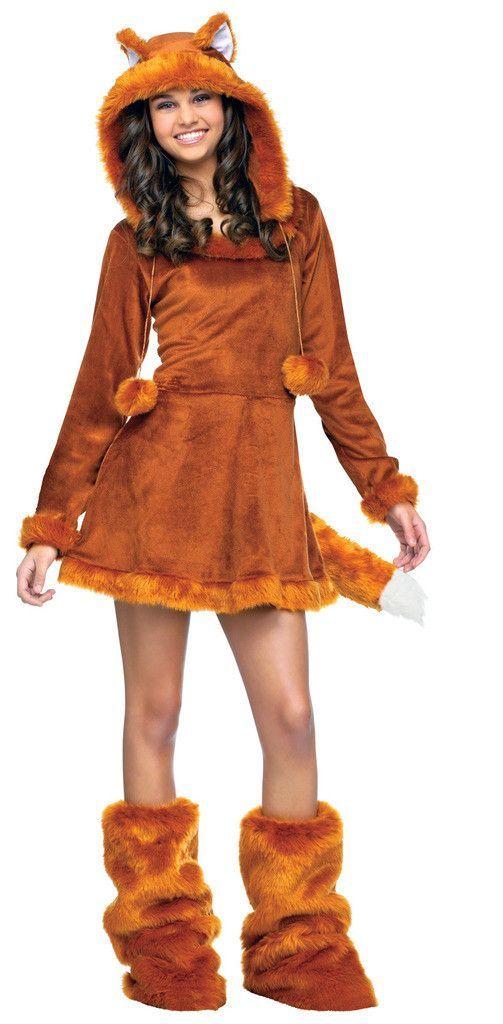 sweet fox teen costume - Fun Teenage Halloween Costumes