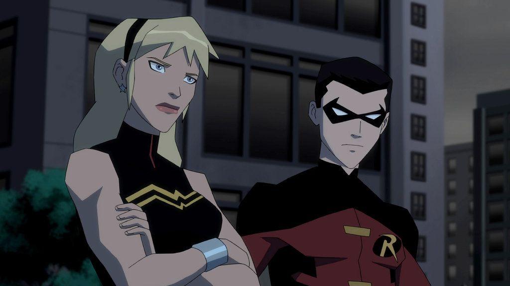Wonder Girl And Robin By Ljdt On Deviantart Young Justice Young Justice League Young Justice Season 2