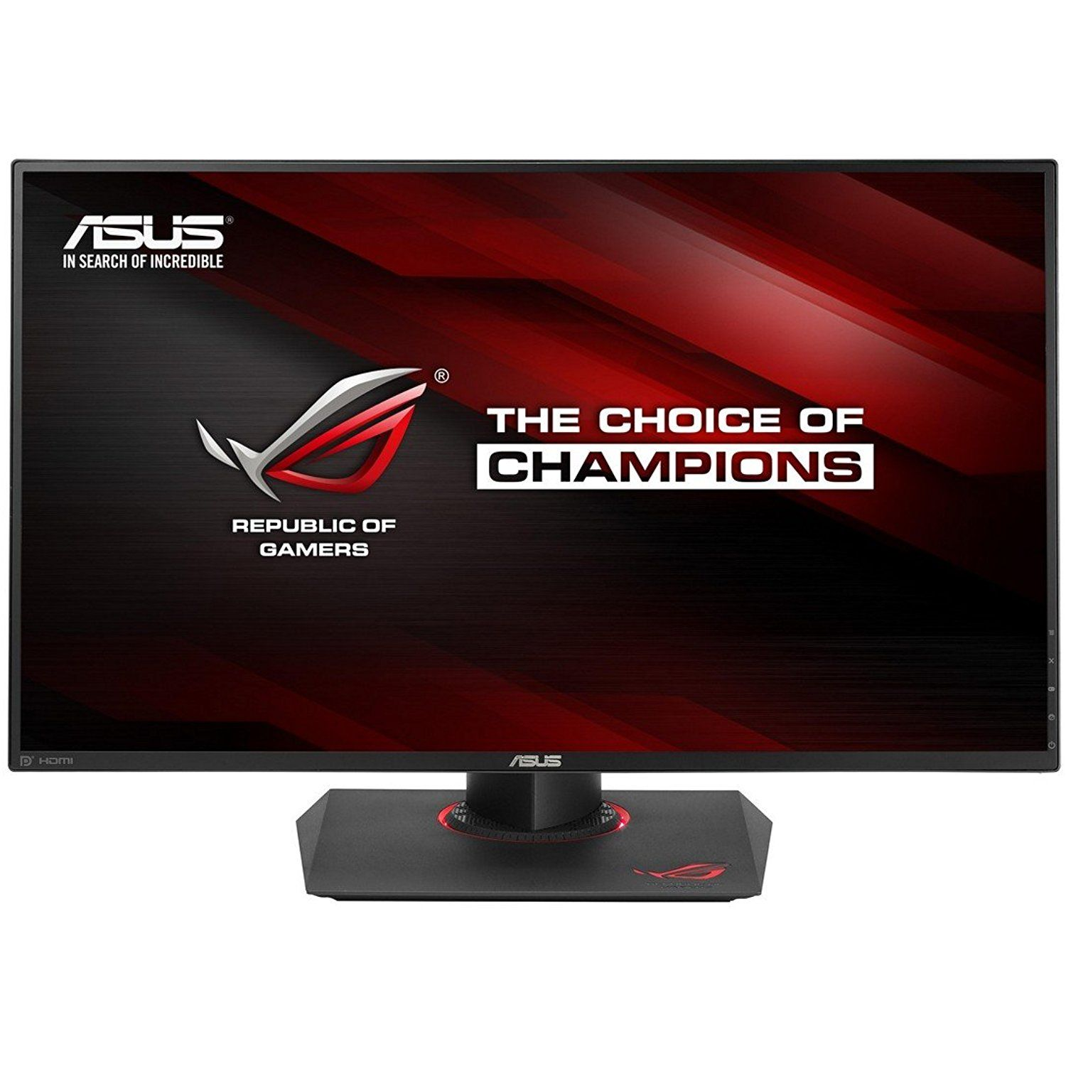 Asus Rog Swift Pg279q 27 2560x1440 Ips 165hz 4ms G Sync Eye Care Gaming Monitor With Dp And Hdmi Ports Be Sure To Check Asus Monitor Buy Computer
