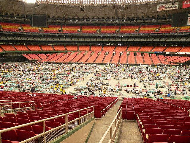 Astrodome Abandoned Buildings Natural Disasters Abandoned