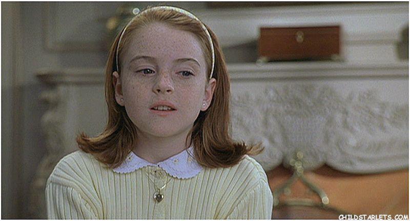 Lindsay Lohan de ni&#2... Lindsay Lohan Childstarlets