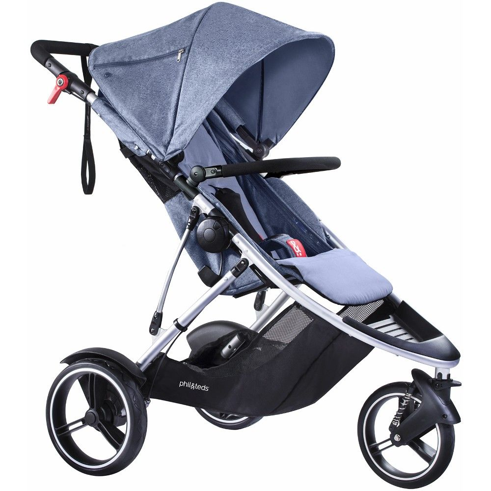 Phil & Teds Dash Pushchair (Blue Marl) Baby transport