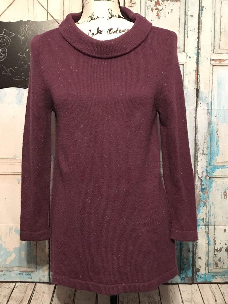b59f55eb6c Plum Long Sleeve Loft Sweater  fashion  clothing  shoes  accessories   womensclothing