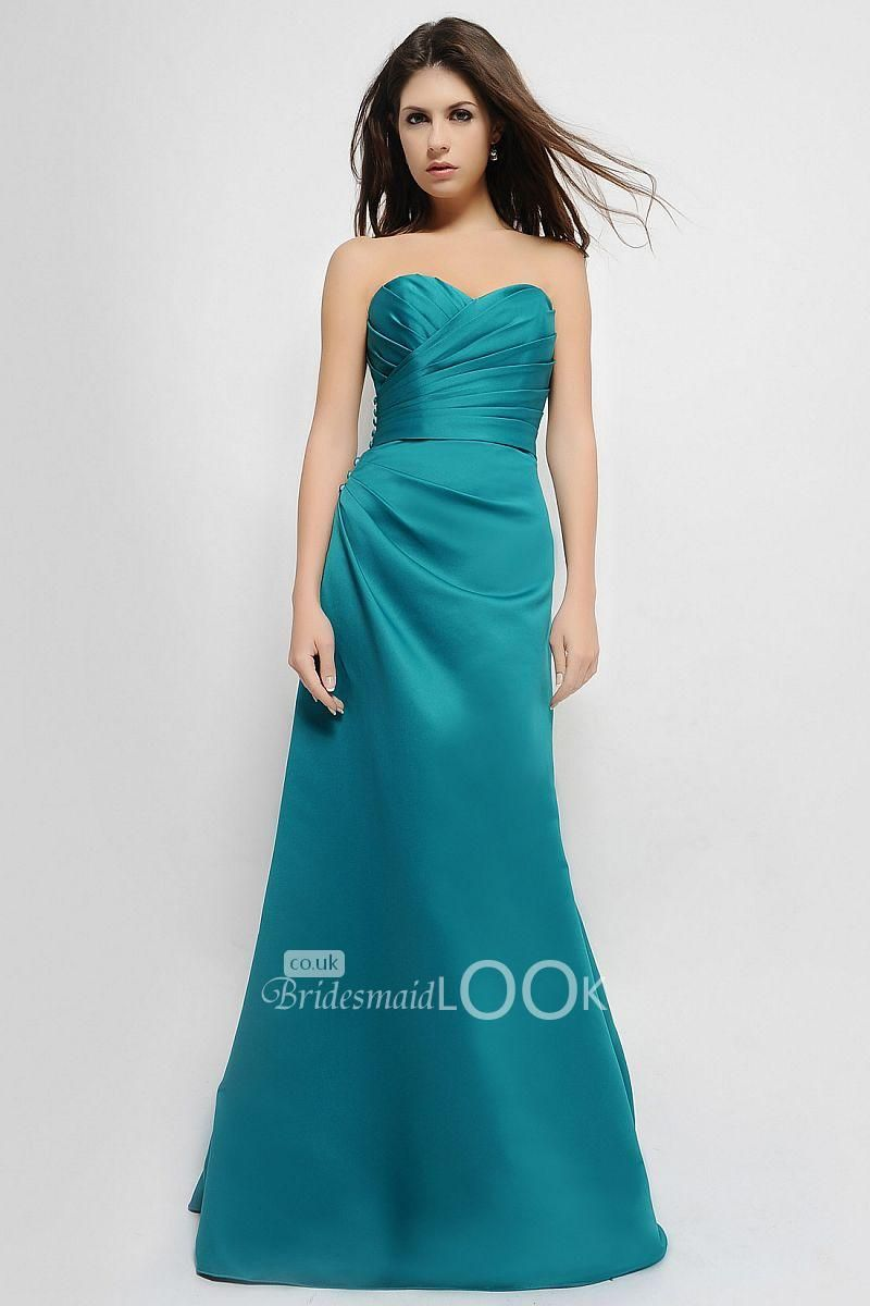 oasis bridesmaid gown strapless matte satin sweetheart prom dress ...