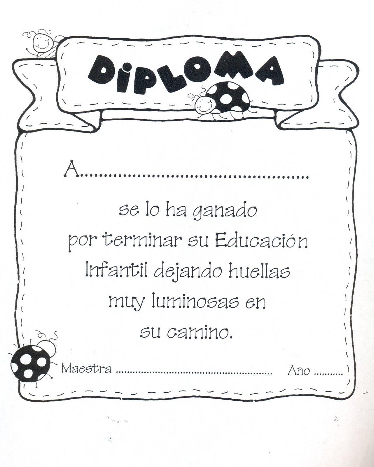 Diplomas Para Premiar A Los Niños Te Reunimos En Esta Entrada