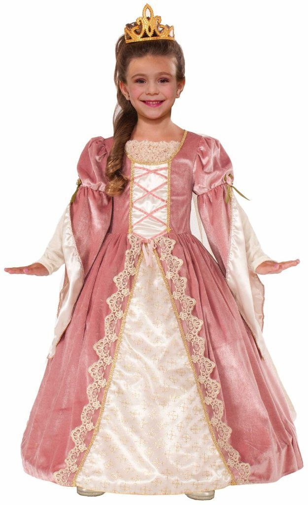 victorian rose child costume | medium (8-10) | cotillon | Pinterest ...