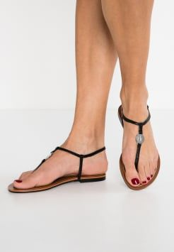 Lauren Ralph Lauren - AIMON - T-bar sandals - black