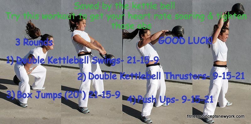 Did you know that a kettlebell swing is great for strengthening your ...