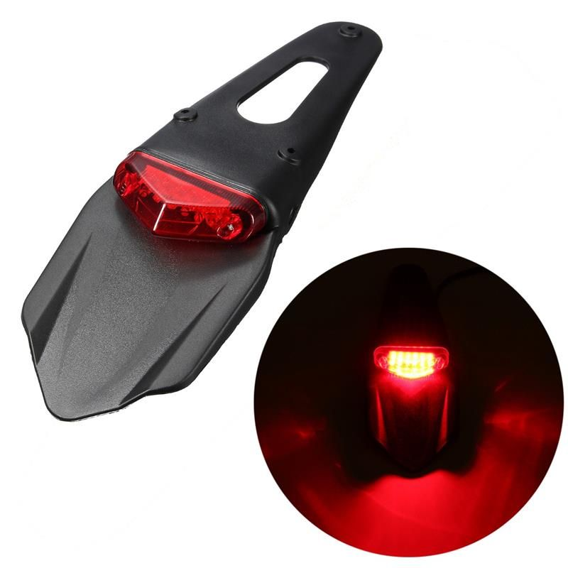 Universal Motorcycle Fender Light 12 Led Lamp Stop Break Rear Tail Light Back Splash Lamp Red In Brake Lights From Motorcycle Fender Tail Light Led Tail Lights