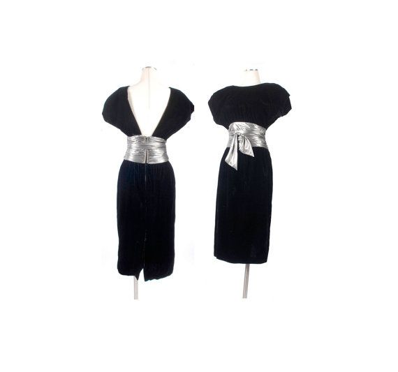 Prom dress 80 s vintage keys