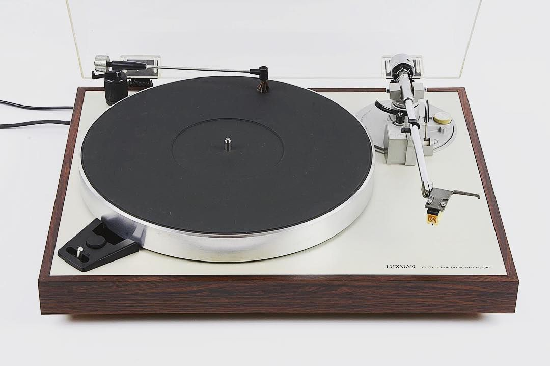 audiophile luxman pd 284 direct drive turntable including the rh pinterest com