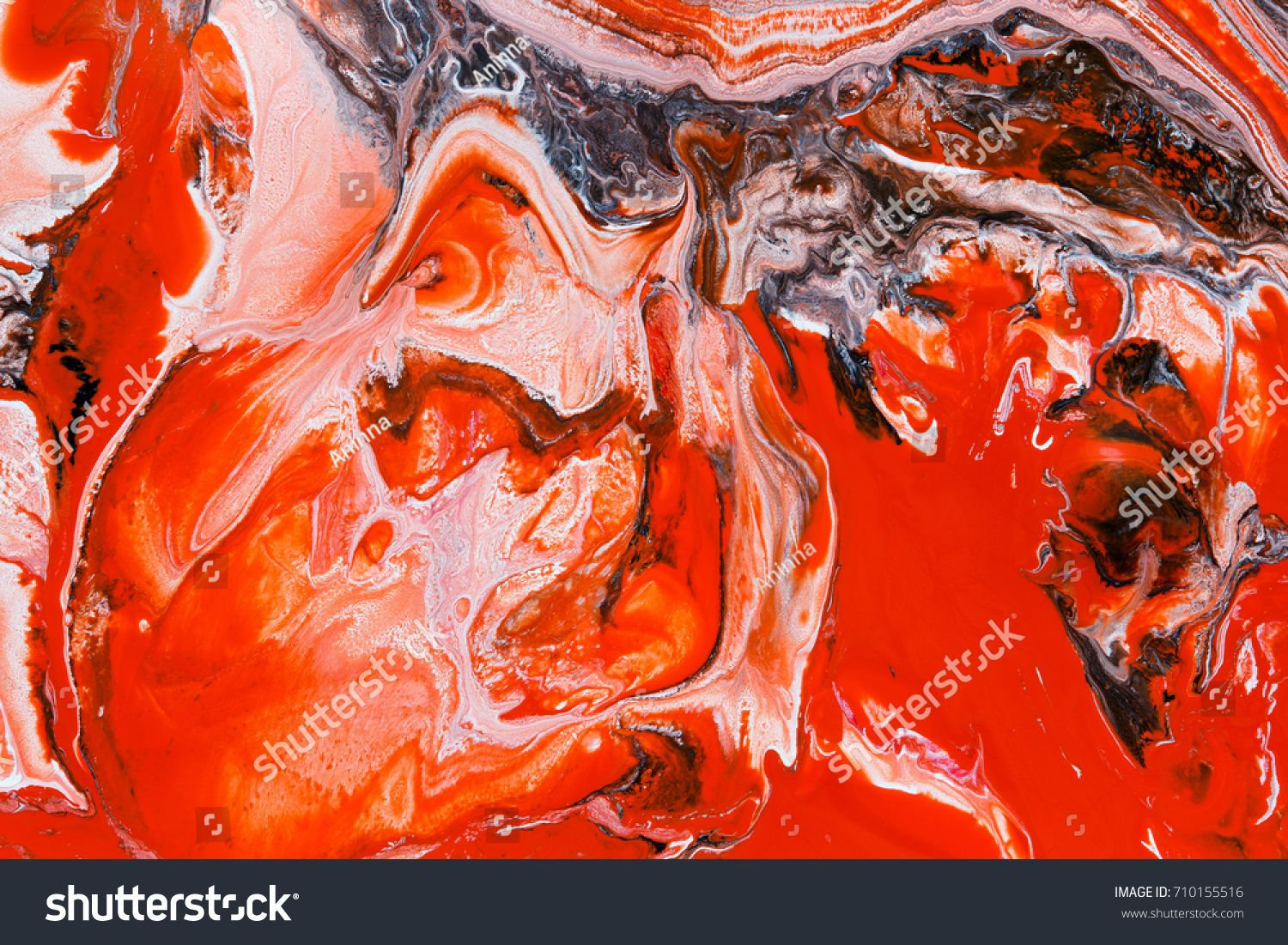 Fantasy Abstract Background Of A Mix Color Paints Sponsored